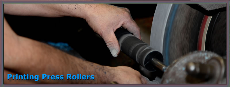 printing press rollers by advanced roller co.